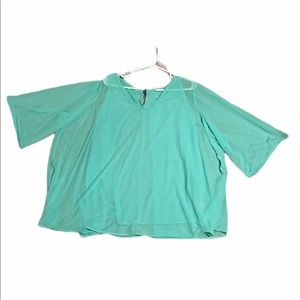 Mint green dress shirt